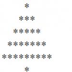 php 演算法(三角形之聖誕樹)